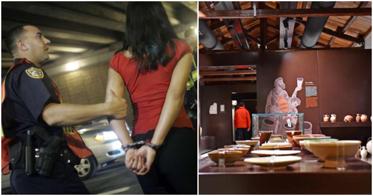 Συνέλαβαν τις γυναίκες που έριχναν λάδια στα μουσεία – Τις έπιασαν στα «πράσα» ενώ ετοίμαζαν και άλλο βανδαλισμό