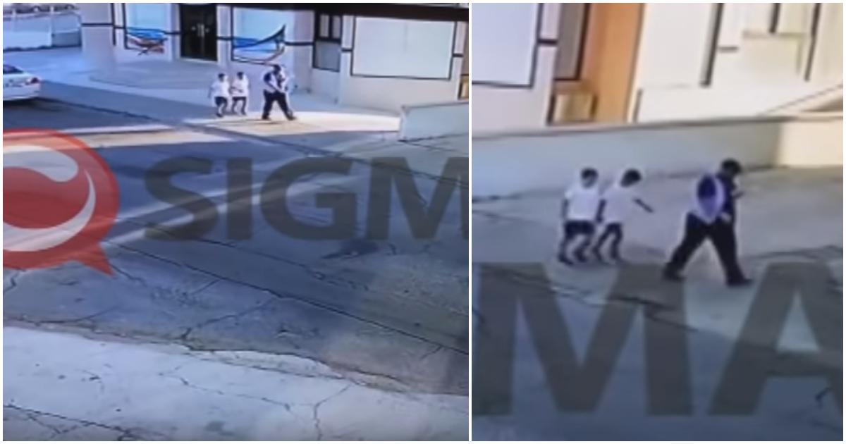 Αυτο το ΚΑΘΙΚΙ  εκανε την απαγωγή των δύο 11χρονων αγοριών στην Κύπρο - Δειτε το βιντεο