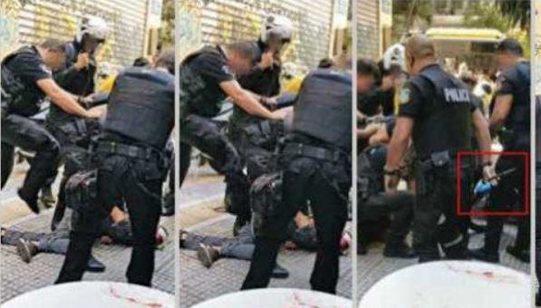 Νέο βίντεο δείχνει αστυνομικούς να κλοτσούν και να σέρνουν τον αιμόφυρτο Ζακ Κωστόπουλο