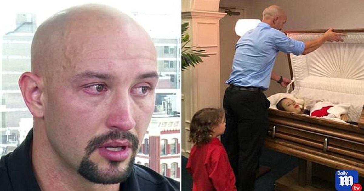 Πατέρας δημοσίευσε τις φωτογραφίες της νεκρής γυναίκας του και του μωρού τους στο φέρετρο που χτυπήθηκαν θανάσιμα από μεθυσμένο οδηγό
