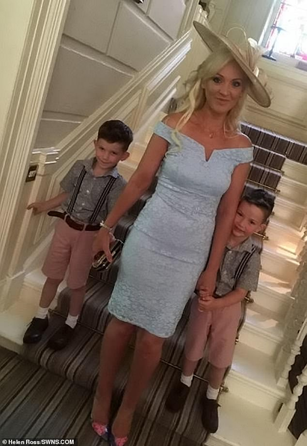Ms Ross now lives with her two sons, who are from a different relationship, and vowed she would never let herself become so dependent on a man it would be life-threatening to break up with him