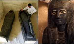 Εκπομπές άνθρακα αιγυπτιακές μούμιες