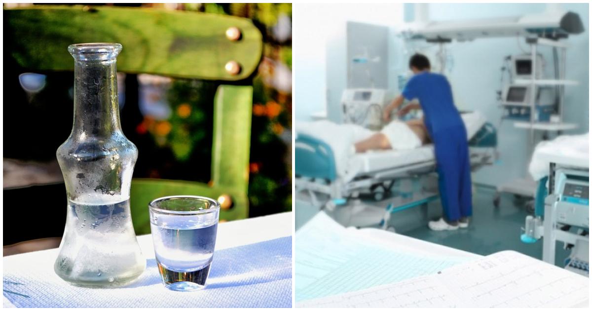 Κρήτη  Γιατροί έδωσαν ρακί αντί για σκιαγραφικό αξονικής σε ηλικιωμένο και  κατέληξε στην εντατική με εγκεφαλικό 98a7c58b249