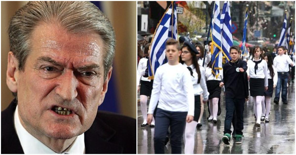 Αλβανός πρώην πρωθυπουργός: «Να καταργηθεί ο εορτασμός του «ΟΧΙ» στην Βόρεια Ήπειρο»