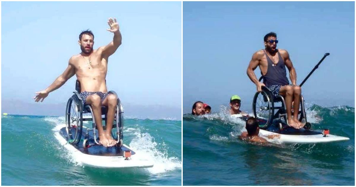 Έλληνας παραολυμπιονίκης μας εκανε να ανατριχιασουμε - Υποκλίθηκε μεχρι και ο εκπαιδευτής του