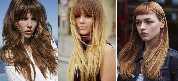 Ένα ακόμη στοιχείο που μπορεί να απογειώσει ένα κούρεμα σε μακριά μαλλιά  είναι η φράντζα ή οι αφέλειες. Προσθέτουν υπέροχο στυλ και μπορούν να  μεταμορφώσουν ... 6b8970e1c90