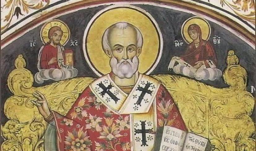 """Αποτέλεσμα εικόνας για αγιος νικολαος θαυματα ιερα μονη γρηγοριου"""""""