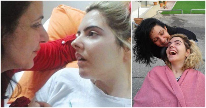 Μετά από 4 χρόνια στο κρεβάτι η Ασπασία στέκεται ξανά μόνη της