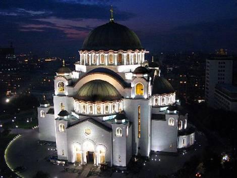 Άγιος Σάββας Βελιγραδίου. Η μεγαλύτερη εν λειτουργία Ορθόδοξη εκκλησία –  διαφορετικό