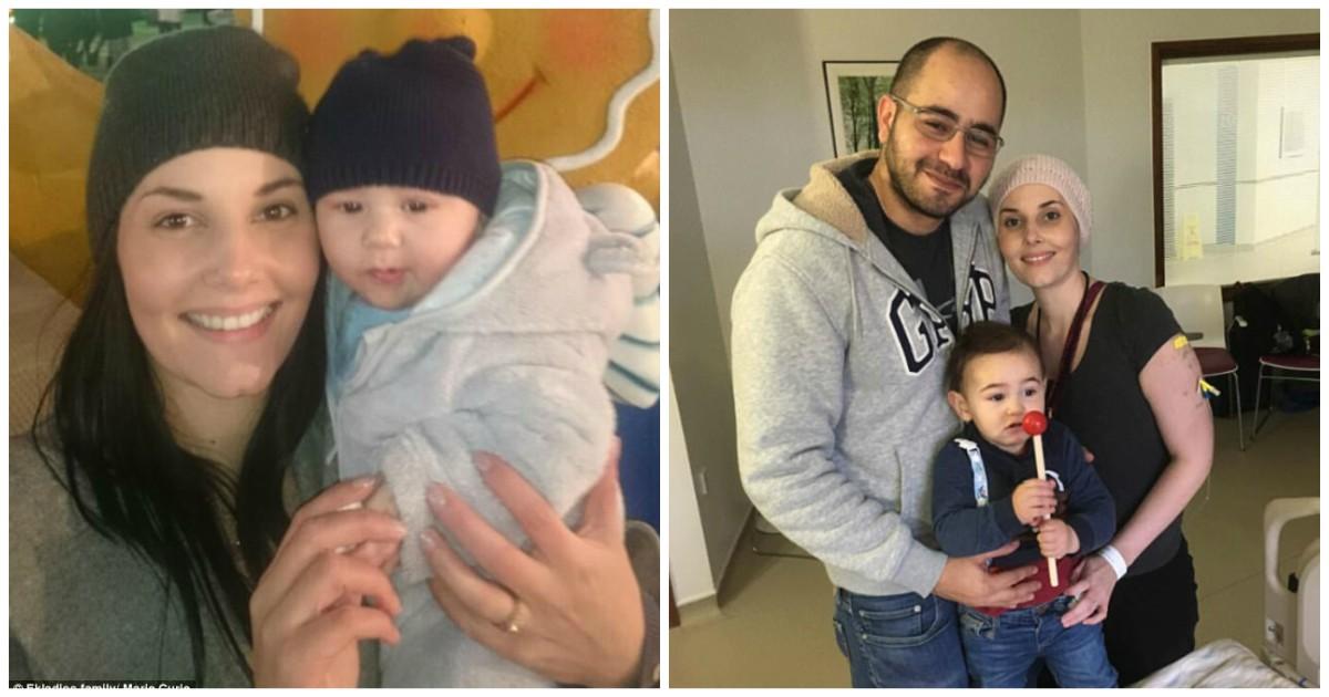 Μαμά με καρκίνο περνά τα τελευταία Χριστούγεννα με τον 15 μηνών γιο της και αποφασίζει να ζήσει το κάθε δευτερόλεπτο μαζί του