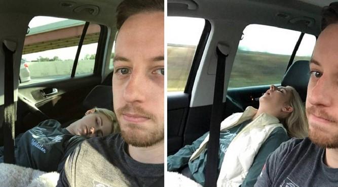 Άντρας ανέβασε τις φωτογραφίες της γυναίκας του από όλα τα ταξίδια τους για να μας πει τον πόνο του