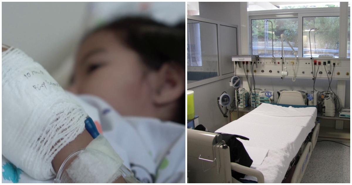 Κραυγή αγωνίας από τον πατέρα της 4χρονης στην Κρήτη: «Βοηθήστε τη Μαρίνα, η ζωή της κρέμεται από μία κλωστή»