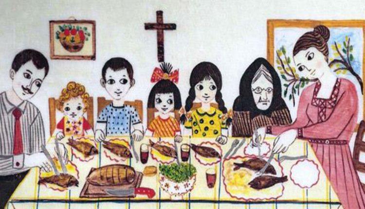 Το Κυριακάτικο τραπέζι: Μια οικογενειακή συνήθεια που όλοι οι Έλληνες οφείλουν να θυμούνται
