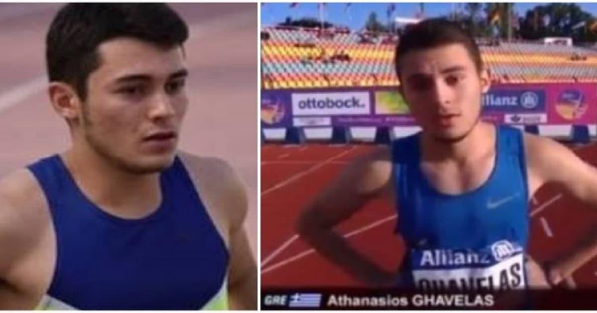 Πρώτος σε όλη την Ευρώπη ο 19χρονος Αθανάσιος Γκαβέλας – Χρυσό μετάλλιο για την Ελλάδα στα 100μ.