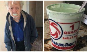 90χρονος παππούς έφαγε κατά λάθος λαδομπογιά αντί γιαούρτι και λέει πως η  γεύση της δεν είναι καθόλου κακή df633c0eb25