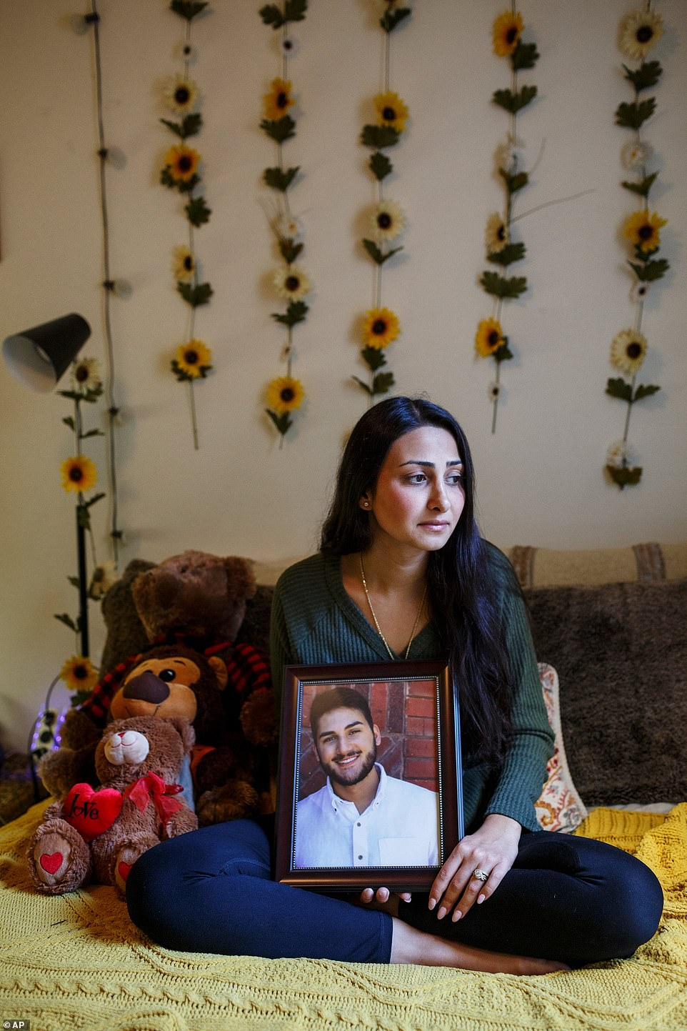 Baluch said people have told her that they believe her and Sharifi's love 'was so powerful that it couldn't exist on this earth, that the only way to separate us was through death'