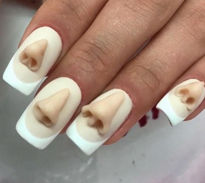 Ήρθαν τα νύχια σε σχήμα δοντιών και είναι η πιο άσχημη μόδα που βγήκε ποτέ - Εικόνα 6