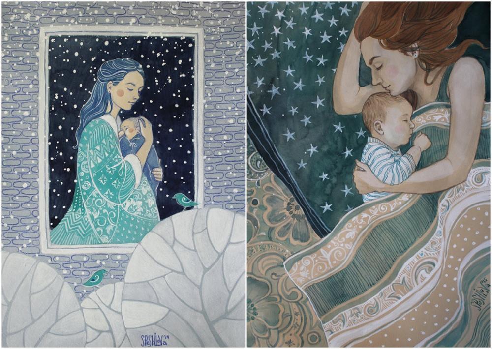 16 σκίτσα που υμνούν την ανιδιοτελή και παντοτινή αγάπη της μητέρας 5
