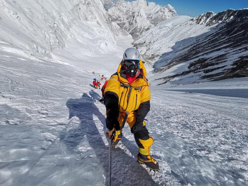 Lhotse, 2019, Φωτογραφία Χριστίνα Φλαμπούρη Facebook