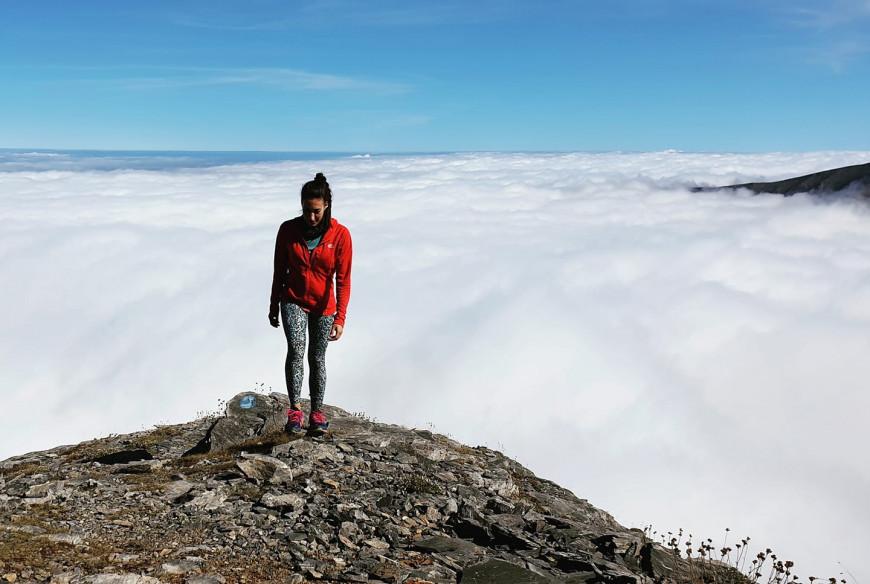 Στον Όλυμπο, κυριολεκτικά πάνω από τα σύννεφα Φωτογραφία Χριστίνα Φλαμπούρη Facebook