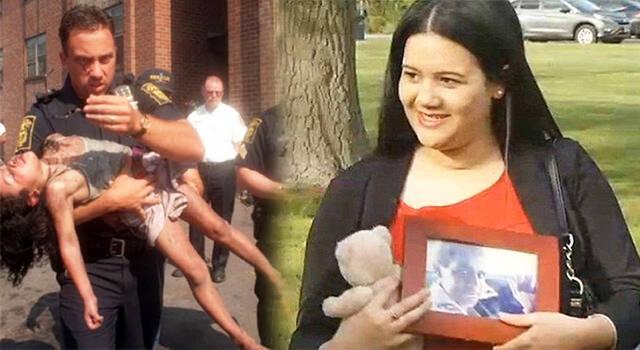 Αστυνομικός σώζει κορίτσι